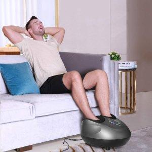 $99.99(原价$139.99) 免邮Naipo 多功能足部按摩仪 中医理论结合3D按摩