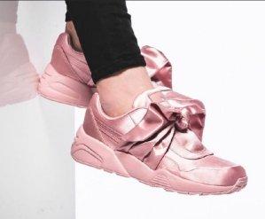 63e5035cf29c18 for FENTY Puma x Rihanna Women s Satin Bow Sneakers  160 - Dealmoon