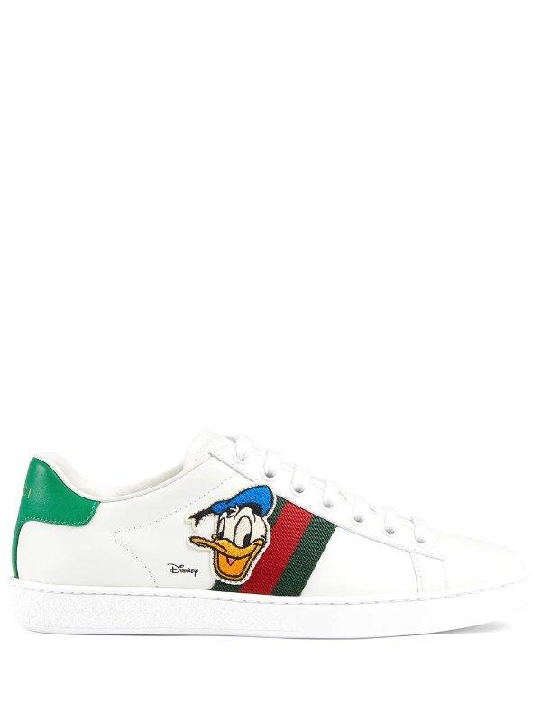 x Disney 唐老鸭小白鞋