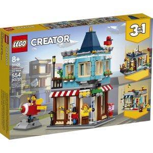 $42.47(原价$49.99)LEGO 乐高 城镇玩具店 31105 创意百变组 三合一 共554颗粒