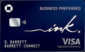 Earn 100,000 bonus pointsInk Business Preferred® Credit Card