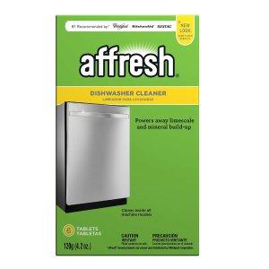 $4.22Amazon Affresh W10549851 Dishwasher Cleaner, 6 Tablets