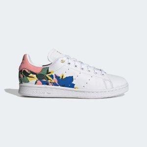 AdidasStan Smith 印花小白鞋