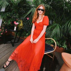 低至4折 £208收星星仙女裙Self-Portrait 精选美衣大促 仙女裙等你来挑