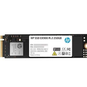 $32.99HP EX900 M.2 250GB NVMe 3D TLC 固态硬盘