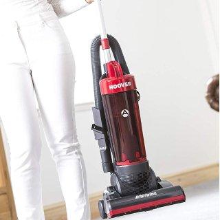 低至3.5折 现价£42(原价£119.99)折扣升级:Hoover 立式真空吸尘器 清洁强吸力