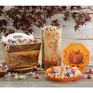 增添万圣节气氛 低至$6.99LINDOR 秋季、万圣节主题特别巧克力精品装 22种口味自选
