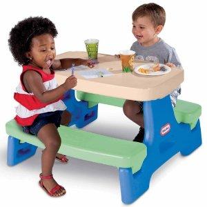$59.97(原价$158.99)史低价:Little Tikes 可爱儿童玩具小饭桌、玩具桌
