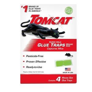 Tomcat Super Hold Glue Traps 4 Packs