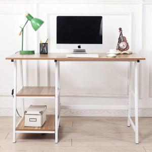 $99.25(原价$125)闪购:SogesHome 电脑桌 两色可选 简洁时尚