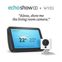 Amazon Echo Show 5 + Wyze 1080p 套装