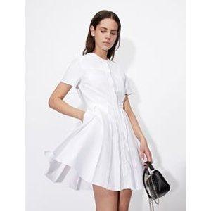 Armani ExchangeA字衬衫裙