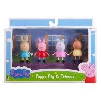 Peppa Pig 玩偶4个