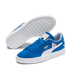 puma 芝麻街联名款 蓝色童鞋,7折+折上85折