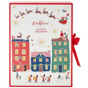 单价€49.25 满€85立享9折Cath Kidston 2019圣诞日历热卖 人见人爱的田园小清新风格