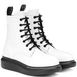 一律8.5折 封面新款£416Alexander McQueen 惊喜闪促 收新款帆布鞋、网红靴好时机