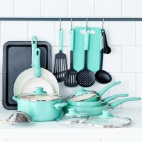 Greenlife 18件套陶瓷厨具(众测)