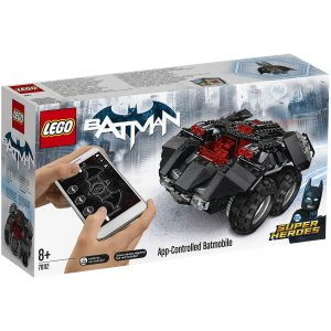 Lego乐高蝙蝠侠座驾(可app操控)