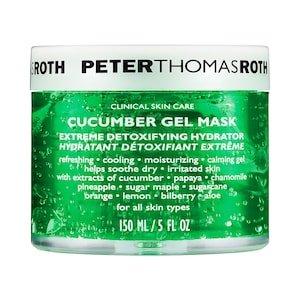 Cucumber Gel Mask Extreme Detoxifying Hydrator - Peter Thomas Roth | Sephora