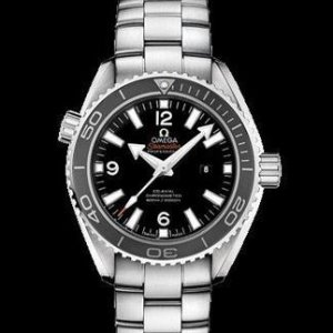 $2995OMEGA Seamaster Automatic Chronometer Black Dial Mid-Size Watch 232.30.38.20.01.001