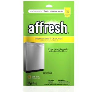 $2.99 包邮史低价:Affresh W10282479 洗碗机清洗剂 6片