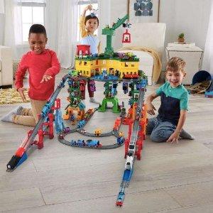 低至$8.06 封面大型轨道玩具$49(原价$100)史低价:Thomas & Friends 托马斯小火车、立体轨道玩具套装