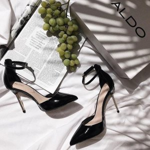 15% off $85 20% Off $125 25% off $150Selected Shoes and Bags Sale @ Aldo