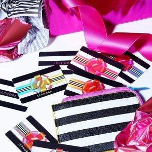 近期Sephora赠品汇总Sephora.com 全场满$25起送好礼