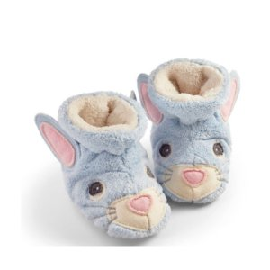 6.5折Acorn 小童毛绒绒的棉拖鞋特卖