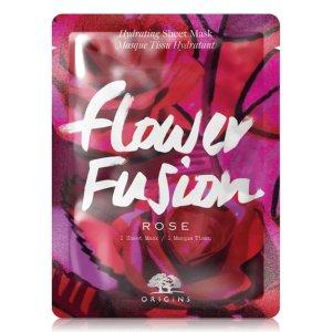 Flower Fusion™ 玫瑰补水面膜