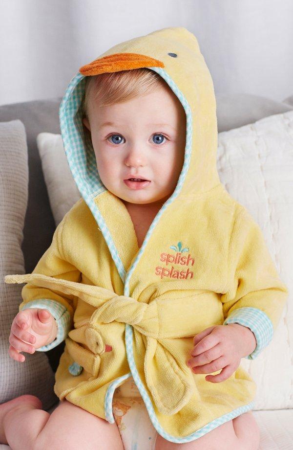 小黄鸭浴袍