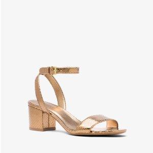 91bfe3ad2ba1 Extra 25% Off Select Already Reduced Sandals   Michael Kors Semi ...