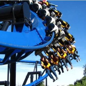 From $45.5 Six Flags Magic Mountain Admission Ticket