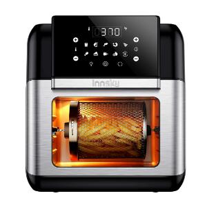 $149.99包邮(原价$179.99)Innsky 10升量10合1多功能空气炸锅 少油也美味 可烤整鸡