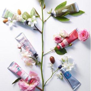 护手霜5支装¥250 + 直邮中国L'Occitane 欧舒丹 护肤套装精选,收樱花、乳木果护手霜、沐浴套装