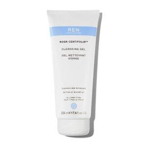 REN Clean Skincare玫瑰洁面225ml