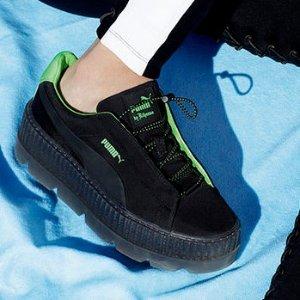 低至4折+额外7折 45胖收大表姐同款Fenty 2018最新春夏款鞋履,服饰等折上折