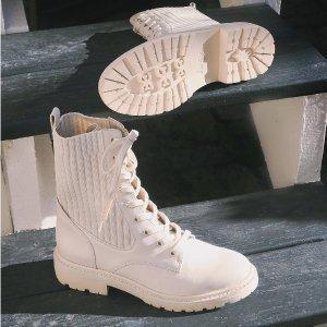 低至4折+免邮Sam Edelman 时尚美鞋专场,毛毛拖鞋$36 全皮小白鞋$60