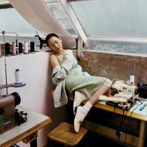 £249收封面小S同款连衣裙Sandro官网 SS21春夏新款上架 粉粉嫩嫩是春天的感觉