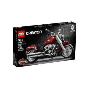 Lego哈雷摩托