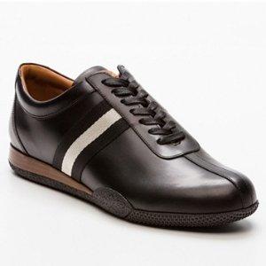 低至44折BALLY 男式皮质休闲鞋 大促进行中 低调有质感