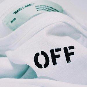 低至5折 T恤$140收 免税包邮Off-White潮衣热卖,男女款都有,限量合作系列也参加