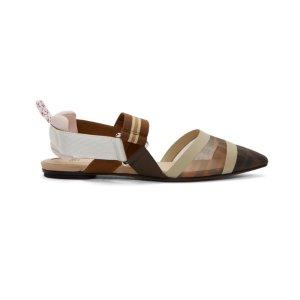 $540 (官网定价$690)Fendi 新款 平底鞋 直降$150
