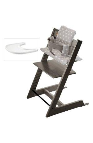 Stokke Tripp Trapp 成长椅+baby set+软垫+餐盘托套装,5色可选