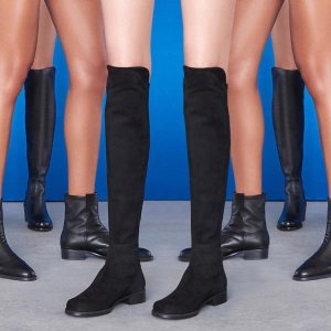 低至5折 踝靴$357Stuart Weitzman 美鞋靴热卖 过膝靴$400+收