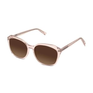 Nancy Sunglasses in Rose Crystal for Women