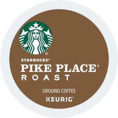 Pike Place® 中度烘焙咖啡胶囊 24颗装