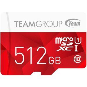 Team Group 512GB Color microSDXC 存储卡