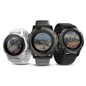 fenix 5X 蓝宝石版$419.99Garmin官网 30周年大促销 智能手表、手环、GPS导航仪特卖