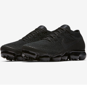 $189.99 + Free Shipping Nike Men's Triple Black Air Vapormax Flyknit @ East Bay